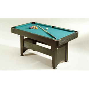 Winsport Billardtisch Chicago 4 ft. - Farbe: schwarz - Bild 1