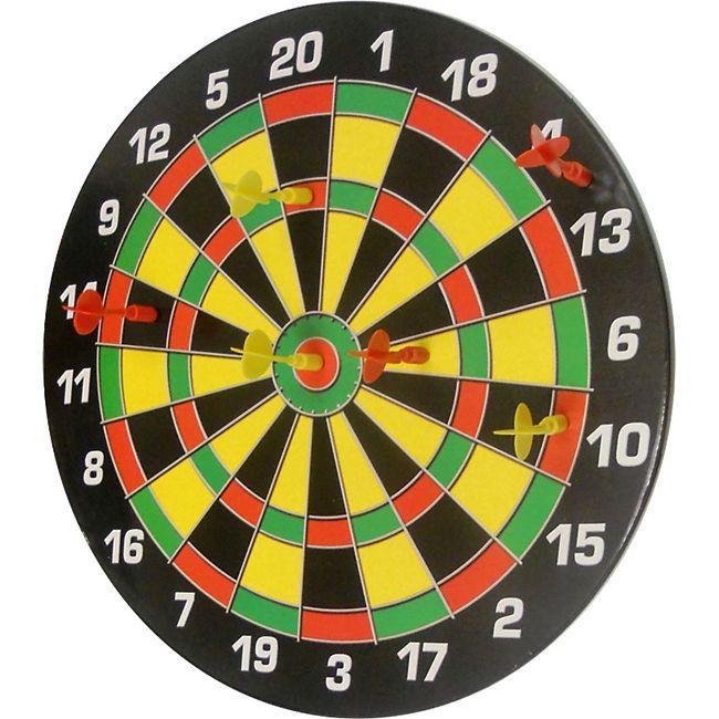 Karella Magnet Dartboard Set Family Magnetische Dartscheibe + 6 Dartpfeile Dartspiel - Bild 1