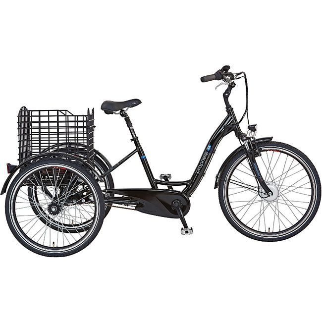 "Prophete Dreirad 26"" 3-G. 36V schwarz Seniorenrad E-Bike E-Dreirad - Bild 1"