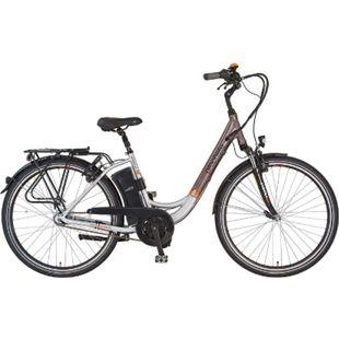 Prophete E-Bike Navigator Pro Damen Alu City Elektro Fahrrad 2x 36V/10,4Ah B Ware - Bild 1