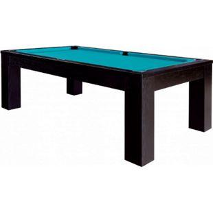 Winsport Billardtisch TRENTO, schwarz gebeizt - Bild 1