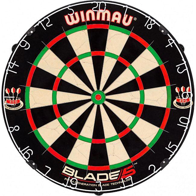 Winmau Dartscheibe Blade 5 Turnier Dartboard Bristle Steeldartboard Steeldart - Bild 1