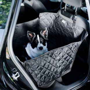 BedDog® Autoschondecke für den Kofferraum oder Rücksitz, reflektierend... Rücksitz halb - Bild 1