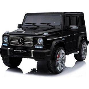 Kinder Geländewagen Mercedes Benz G65 PREMIUM XXL AMG Fernbedienung MP3 2x45W... Schwarz - Bild 1