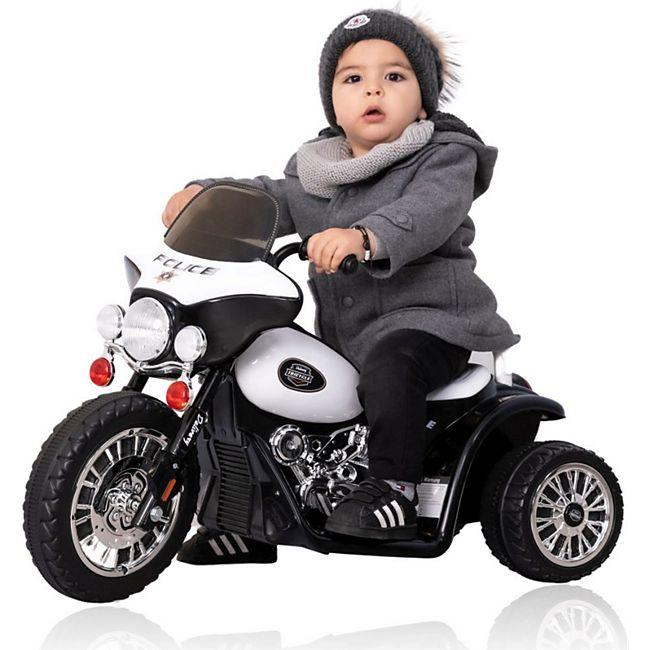 Harley Kindermotorrad Elektro Dreirad Kinder Polizei Motorrad Kinderfahrzeug - Bild 1
