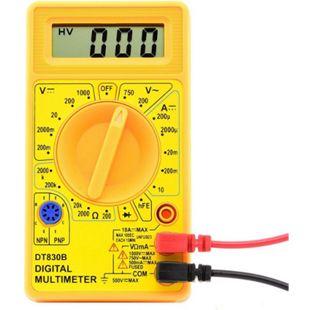 Digital-Multimeter DT-830B Messgerät inkl. Prüfkabel Messgerät Widerstand Spannung - Bild 1
