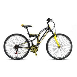 """26"""" MTB Fully Mountainbike 26 Zoll Fahrrad Vollfederung CrossRad Bike 21 Gang - Bild 1"""