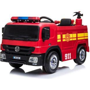 Feuerwehr Kinderauto Feuerwehrauto Fire-Truck Kinderfahrzeug Kinder Elektroauto - Bild 1