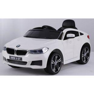 Kinder Elektro Auto Kinderauto BMW 6er GT FB USB Elektro Kinderfahrzeug... weiß - Bild 1