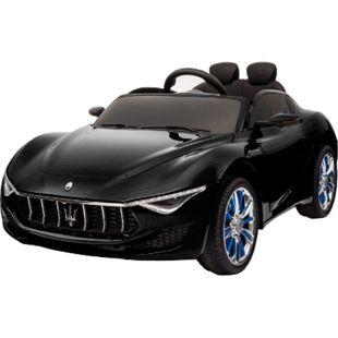 Kinder Elektro Auto Kinderfahrzeug Auto Maserati Alfieri 2x35W 12V Mp3... Schwarz - Bild 1