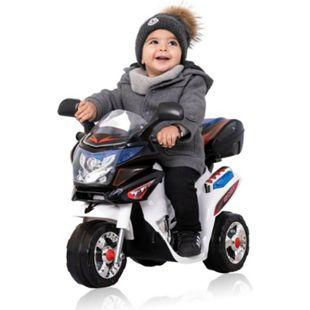 Kinder Polizei Elektrofahrzeug Elektro Akku Bike Dreirad Kinder Motorrad - Bild 1