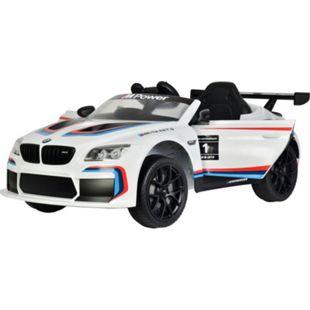 Kinderfahrzeug BMW M6 Sport GT3 Elektroauto Kinder Auto Mp3 Usb RC Bluetooth - Bild 1