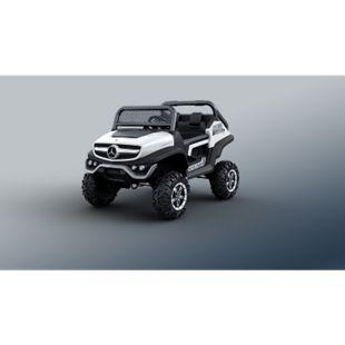 Kinder Elektro Auto Mercedes Unimog 2-Sitzer Jeep Gelände Fahrzeug Atv Quad - Bild 1
