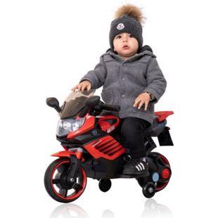Kindermotorrad Polizeimotorrad Elektro Motorrad 6V / 4,5 Ah Soundeffekte Rot - Bild 1