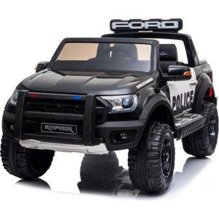 Kinder Elektro Auto Ford Ranger Raptor Polizei Police 2x45W USB Mp3 FB - Bild 1