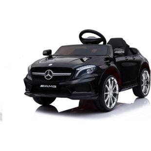 Mercedes-Benz AMG GLA45 Kinderauto 12V 2x35W  Kinderfahrzeug Kinder Elektroauto MP3... Schwarz - Bild 1