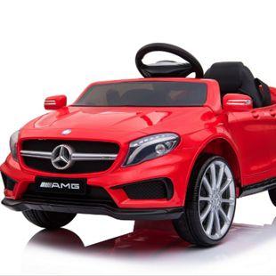 Mercedes-Benz AMG GLA45 Kinderauto 12V 2x35W  Kinderfahrzeug Kinder Elektroauto MP3... Rot - Bild 1