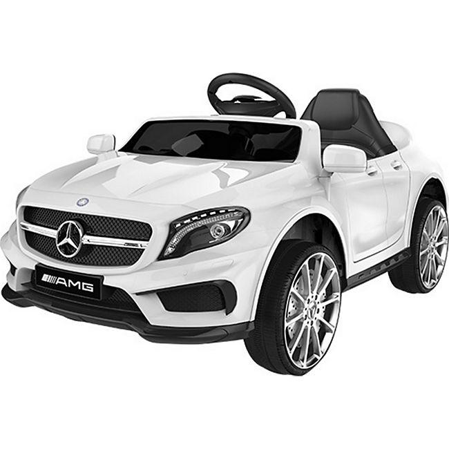 Mercedes-Benz AMG GLA45 Kinderauto 12V 2x35W  Kinderfahrzeug Kinder Elektroauto MP3... weiß - Bild 1