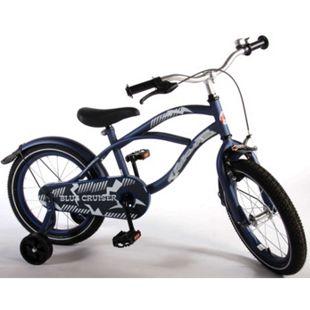 16 Zoll Kinderfahrrad Kinder Hollandfahrrad Fahrrad Bike Rad Unisex Cruiser Blau - Bild 1