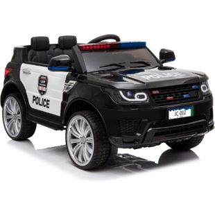 Kinderfahrzeug Elektro Auto Kinder Jeep Polizei Design 12V 2x35W 2,4Ghz USB Mp3 - Bild 1