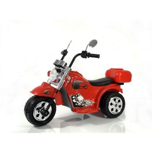 Kinder Elektro Polizei Motorrad Fahrzeug Kindermotorrad Akku Harley Motorrad Elektromotorrad... Rot - Bild 1