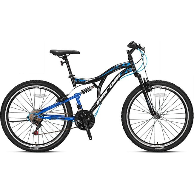 26 Zoll Fahrrad Kinderfahrrad Mountainbike MTB Rad Cross Bike 21 Gang Micro Shift... Blau - Bild 1