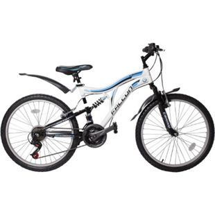 24 Zoll Fahrrad Kinderfahrrad Mountainbike MTB Rad Cross Bike 21 Gang Micro Shift... Blau - Bild 1