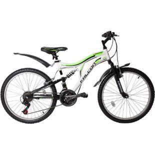 24 Zoll Fahrrad Kinderfahrrad Mountainbike MTB Rad Cross Bike 21 Gang Micro Shift... Grün - Bild 1