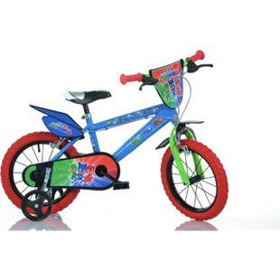 "16"" Pj Masks Kinderfahrrad Jungenfahrrad 16 Zoll Kinderrad mit Stützrädern - Bild 1"