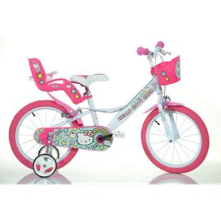 """16 Zoll Hello Kitty  Kinderfahrrad Kinderrad Fahrrad Spielrad Kinder 16"""" Fahrrad - Bild 1"""