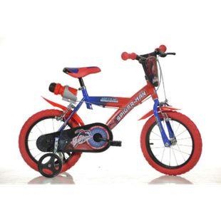 14 Zoll Spidermann Kinderfahrrad Kinderrad Fahrrad Spielrad Kinder- Fahrrad - Bild 1