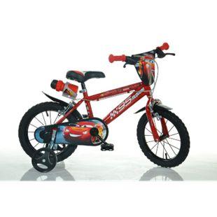 14 Zoll Cars Mc Queen Kinderfahrrad Kinderrad Fahrrad Spielrad Kinder- Fahrrad - Bild 1