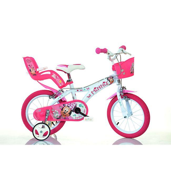 14 Zoll Minnie Mouse Kinderfahrrad Kinderrad Fahrrad Spielrad Kinder- Fahrrad - Bild 1