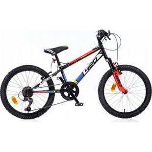 "20"" Mountainbike Kinderfahrrad Jungen Fahrrad MTB 20 Zoll 6 Gang Shimano Federung - Bild 1"