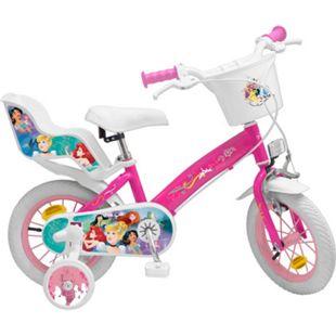 12 Zoll Kinder Kinderfahrrad Mädchenfahrrad Fahrrad Rad Disney Prinzessin Bike - Bild 1