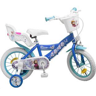 14 Zoll Kinder Kinderfahrrad Mädchenfahrrad Fahrrad Rad Frozen Disney Eiskönigin - Bild 1