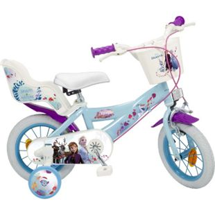12 Zoll Kinder Kinderfahrrad Mädchenfahrrad Fahrrad Rad Frozen Disney Eiskönigin - Bild 1