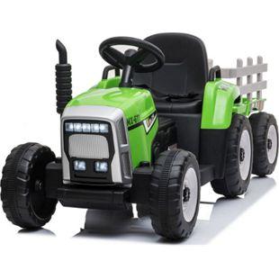 Kinder Elektroauto Traktor Anhänger Kinderauto Kinderfahrzeug Elektro 12V Usb Mp3 - Bild 1