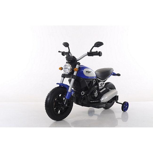 Elektro Chopper Kindermotorrad Elektro Kinder Motorrad 6V 7Ah 2x Motoren Luftbereifung - Bild 1