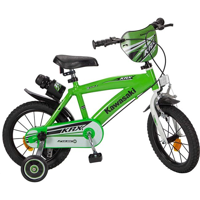 14 Zoll Kinder Rad Kinderfahrrad Fahrrad Rad Kawasaki Kinder Fahrrad - Bild 1