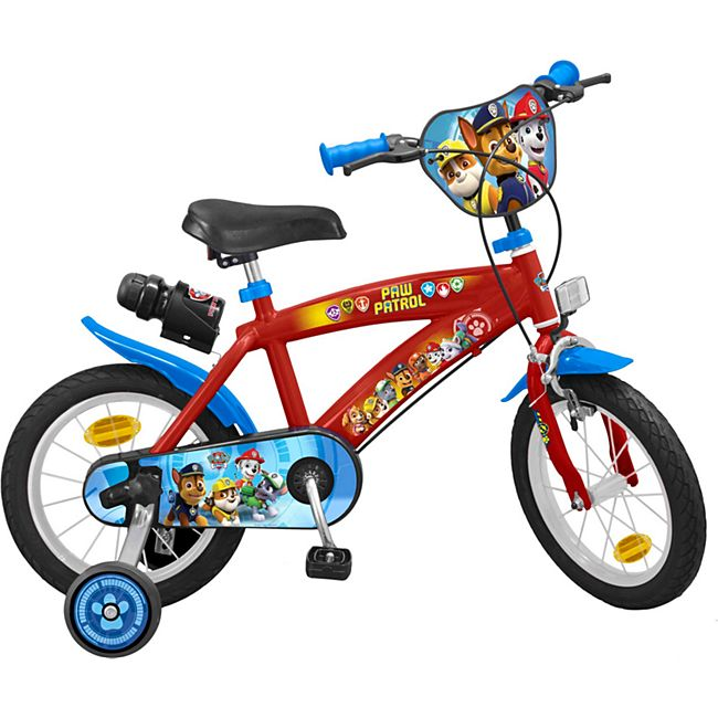 14 Zoll Kinder Rad Kinderfahrrad Fahrrad Rad Paw Patrol Kinder Fahrrad - Bild 1