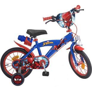 14 Zoll Kinder Rad Kinderfahrrad Fahrrad Rad Spiderman Kinder Fahrrad - Bild 1