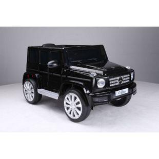 Mercedes-Benz Amg G500 Kinderauto 12V 2x35W Kinderfahrzeug Kinder Schwarz - Bild 1