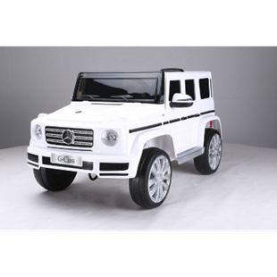 Mercedes-Benz Amg G500 Kinderauto 12V 2x35W Kinderfahrzeug Kinder Weiss - Bild 1