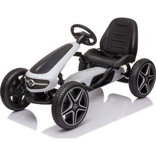 Mercedes Go Kart Tretauto Kettcar Tretfahrzeug Go-Kart Kinderfahrzeug - Bild 1