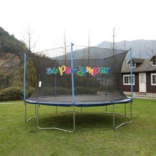 Super Jumper AirBound Trampolin 426cm mit Sicherheitsnetz - Bild 1
