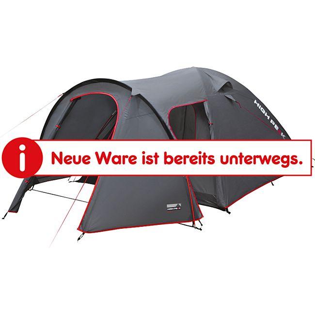 HIGH PEAK Kuppelzelt Kira 3 Personen Iglu Zelt Camping Trekking Vorraum 3000 mm - Bild 1