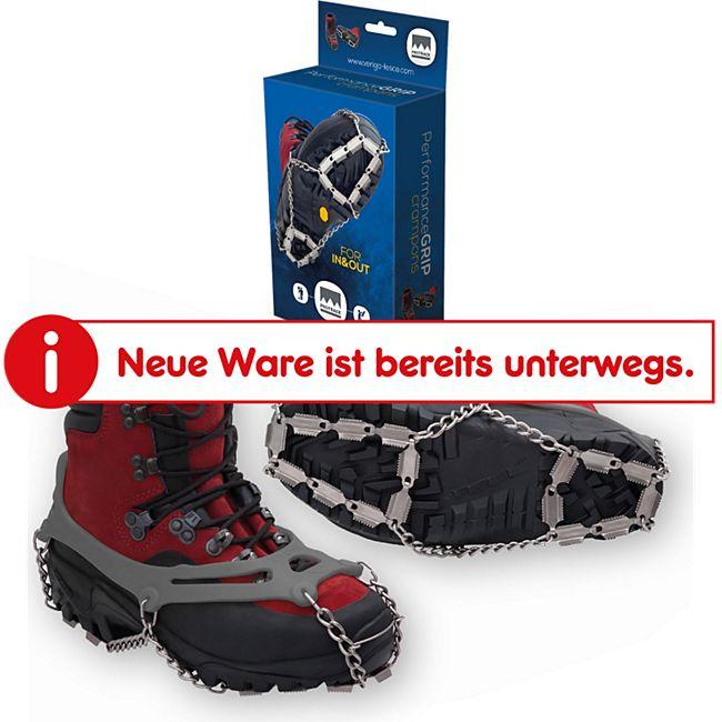 VERIGA Pro Track Schuhkrallen Schneketten f. Schuhe - Schuh Eis Spikes 37-48 Größe: M (37-40) - Bild 1