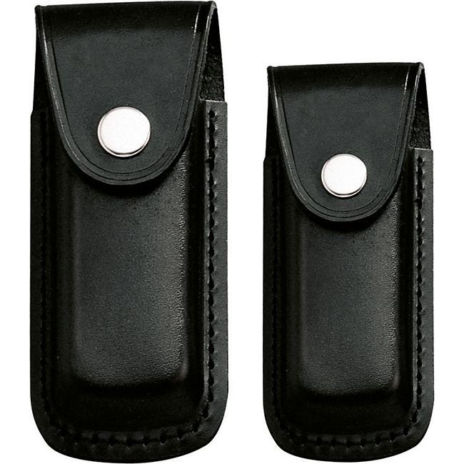 HERBERTZ Messer Etui - Leder Gürtel Etui - Gürtelschlaufe - Klappmesser 2 Größen Größe: 13 cm Heftlänge - Bild 1