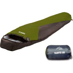 EXPLORER Tramper 300 XXL Mumienschlafsack Camping Schlafsack Trekking -16°C groß - Bild 1